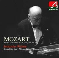 モーツァルト:ピアノ協奏曲 第1,5,18番
