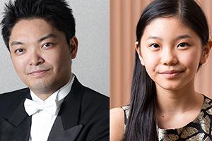 所属のお知らせ /永峰 大輔(指揮)、奥井 紫麻(ピアノ)