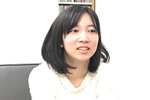 尾崎未空のインタビュー