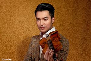 レイ・チェン 「ヴァイオリン・リサイタル2020」公演に向けての動画メッセージ