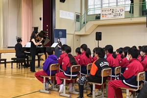 【国際音楽祭NIPPON】芸術監督諏訪内晶子 釜石での学校コンサートレポート