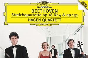 【新譜情報】 ハーゲン・クァルテット「ベートーヴェン: 弦楽四重奏曲第4番・第14番」(2020年3月25日)