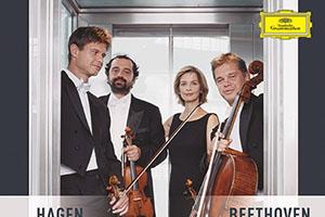 【新譜情報】 ハーゲン・クァルテット「ベートーヴェン:弦楽四重奏曲第1番・第7番《ラズモフスキー第1番》」(2020年3月25日)