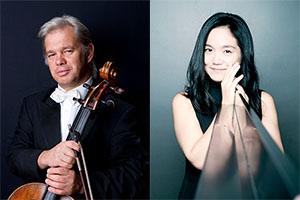 Information on the performance in Japan in 2020: Clemens Hagen, Cello & Hisako Kawamura, Piano