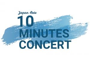 第6回 10 minutes concert、ヴァイオリン:松田理奈の登場です
