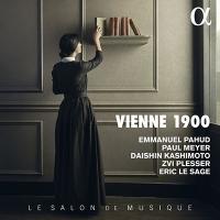 【新譜情報】樫本大進、エマニュエル・パユ、ポール・メイエ、エリック・ル・サージュ「VIENNE 1900 ~20世紀初頭、ウィーンの室内楽」(2020年7月10日発売)