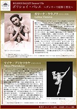 BOLSHOI BALLET Dancers' File ボリショイ・バレエ 〜ダンサーで紐解く歴史〜