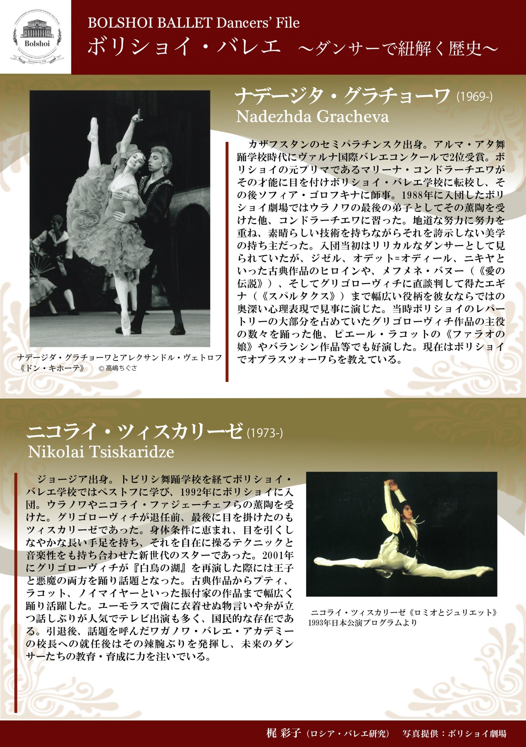 ボリショイ・バレエ 〜ダンサーで紐解く歴史〜vol.6