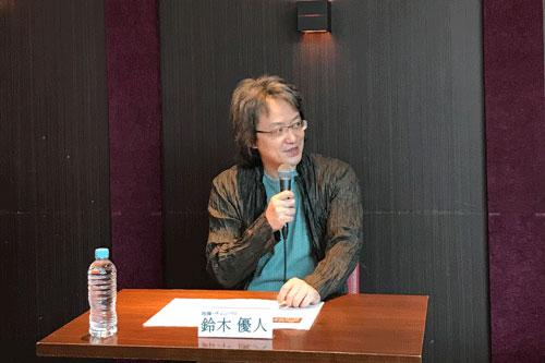 リナルド記者会見写真 鈴木優人