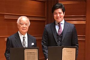 大西宇宙 第30回日本製鉄音楽賞 授賞式へ